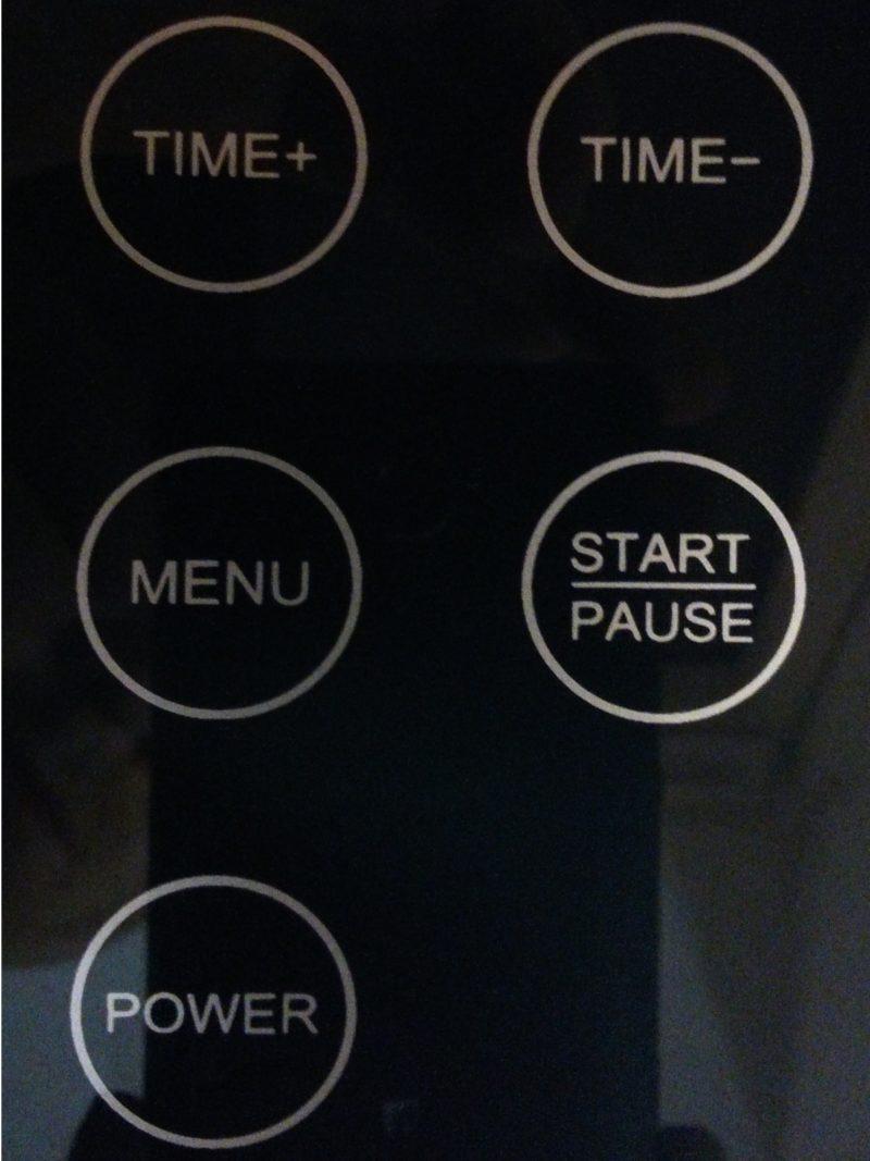 Unold Eismaschine test mit Kompressor Touch Bedienfeld-min
