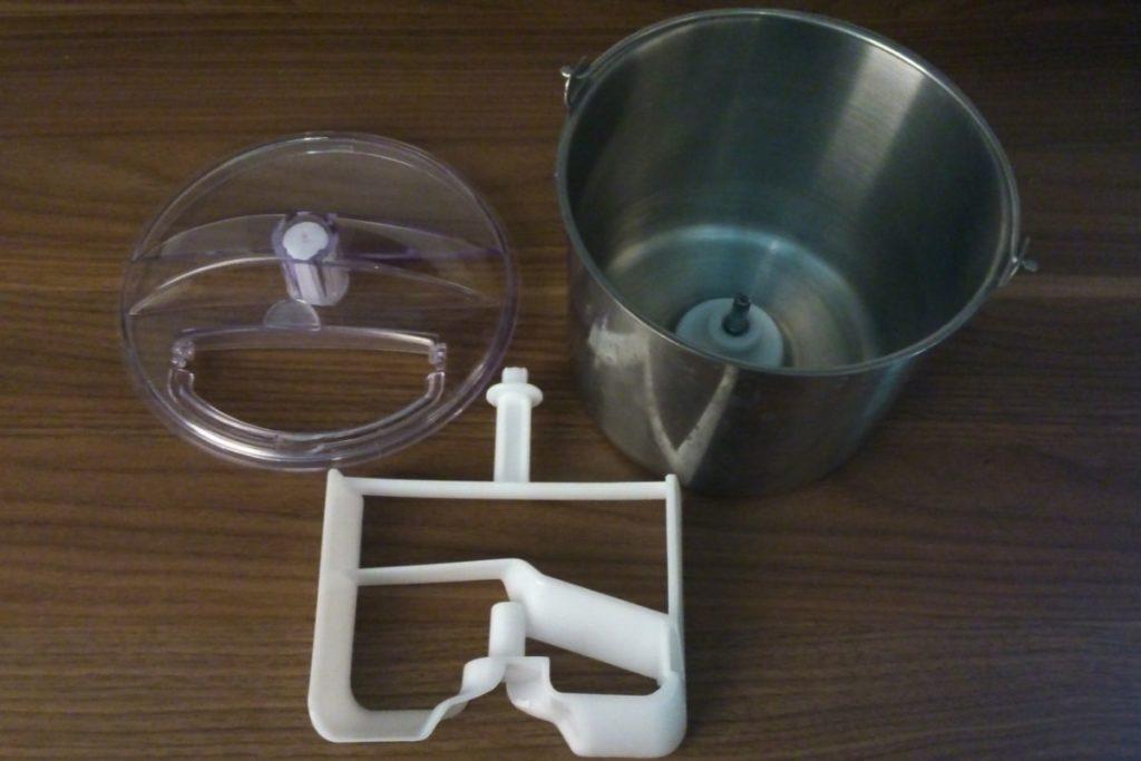 Unold Eismaschine mit Kompressor Touch Einzelteile-min