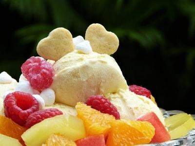 Pfirsich Eis Rezept-min